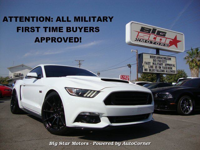2015 Ford Mustang 5.0 GT Premium Coupe 6-Speed Manual